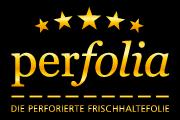 Perfolia - die perforierte Frischhaltefolie-Logo
